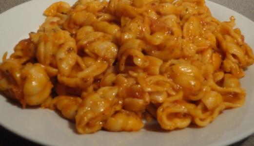 Tomato Basil Conchiglie Pasta